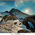 Spring Snows At Tryfan by Beverly Cash