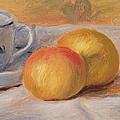 Still Life With Blue Cup Nature Morte A La Tasse Bleue by Pierre Auguste Renoir