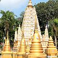 Stupa  by Panyanon Hankhampa