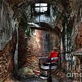 Time For A Cut- Barber Chair - Eastern State Penitentiary by Lee Dos Santos