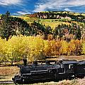 Train At Chama by Ron Weathers