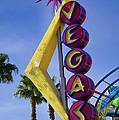 Vegas Sign by Garry Gay