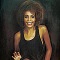 Whitney Elizabeth Houston by Andrzej Szczerski