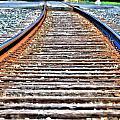 0002 Train Tracks by Michael Frank Jr