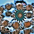 0003 Turquoise And Pearls by Michael Frank Jr