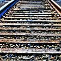 0004 Train Tracks  by Michael Frank Jr
