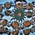 0004 Turquoise And Pearls by Michael Frank Jr