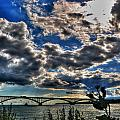 001 Peace Bridge Series II Beautiful Skies by Michael Frank Jr