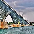 001 Stormy Skies Peace Bridge Series by Michael Frank Jr
