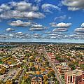 0010  Autumn Days Of Buffalo Ny Birds Eye by Michael Frank Jr