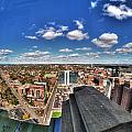 0017 Autumn Days Of Buffalo Ny Birds Eye by Michael Frank Jr