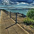 002 Peace Bridge Series II Beautiful Skies by Michael Frank Jr