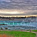 002 View Of Horseshoe Falls From Terrapin Point Series by Michael Frank Jr