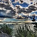 003 Peace Bridge Series II Beautiful Skies by Michael Frank Jr