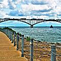 004 Stormy Skies Peace Bridge Series by Michael Frank Jr