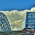 005 Grand Island Bridge Series  by Michael Frank Jr