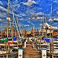 005 On A Summers Day  Erie Basin Marina Summer Series by Michael Frank Jr