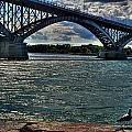 005 Peace Bridge Series II Beautiful Skies by Michael Frank Jr