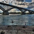 006 Peace Bridge Series II Beautiful Skies by Michael Frank Jr