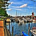 008 On A Summers Day  Erie Basin Marina Summer Series by Michael Frank Jr