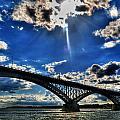 008 Peace Bridge Series II Beautiful Skies by Michael Frank Jr