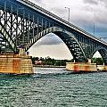008 Stormy Skies Peace Bridge Series by Michael Frank Jr