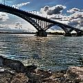 009  Peace Bridge Series II Beautiful Skies by Michael Frank Jr