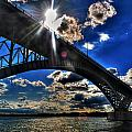 010  Peace Bridge Series II Beautiful Skies by Michael Frank Jr