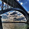 012  Peace Bridge Series II Beautiful Skies by Michael Frank Jr
