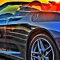 03 Ferrari Sunset by Michael Frank Jr
