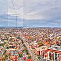 031 Series Of Buffalo Ny Via Birds Eye West Side by Michael Frank Jr