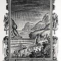 1731 Johann Scheuchzer Noah's Ark Flood by Paul D Stewart