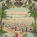 1883 Print Commemorating by Everett