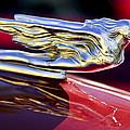 1941 Cadillac Hood Ornament by Jill Reger