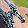 1942 Packard Darrin Convertible Victoria Hood Ornament by Jill Reger