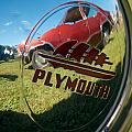 1947 Plymouth Coupe Hubcap by Mark Dodd