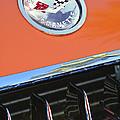 1958 Chevrolet Corvette Hood Emblem by Jill Reger