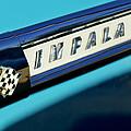 1959 Chevrolet Impala Emblem by Jill Reger