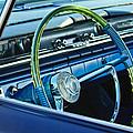 1961 Pontiac Catalina Steering Wheel by Jill Reger