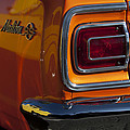 1965 Chevrolet Malibu Ss Taillight Emblem by Jill Reger