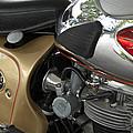 1966 Bsa 650 A-65 Spitfire Lightning Clubman Motorcycle by Jill Reger