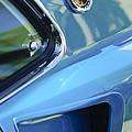 1969 Ford Mustang Mach 1 Emblem 2 by Jill Reger