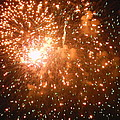 4th Of July Fireworks In Dc  by Genevieve Keillor