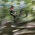 A Boy Flies Through The Air by Roy Gumpel