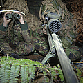 A British Army Sniper Team Dressed by Andrew Chittock