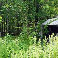 A Broken Down Farm Building by Robert Margetts