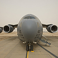 A C-17 Globemaster IIi Sits by Terry Moore