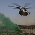 A Ch-53 Super Stallion Helicopter by Stocktrek Images