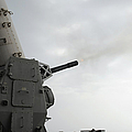A Close-in Weapons System Is Fired by Stocktrek Images