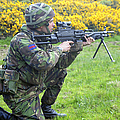 A Coldstream Guard Training In Scotland by Andrew Chittock